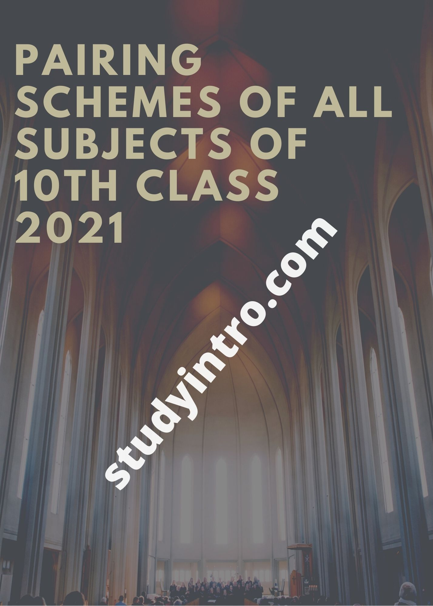 Pairing Scheme of All Subjects