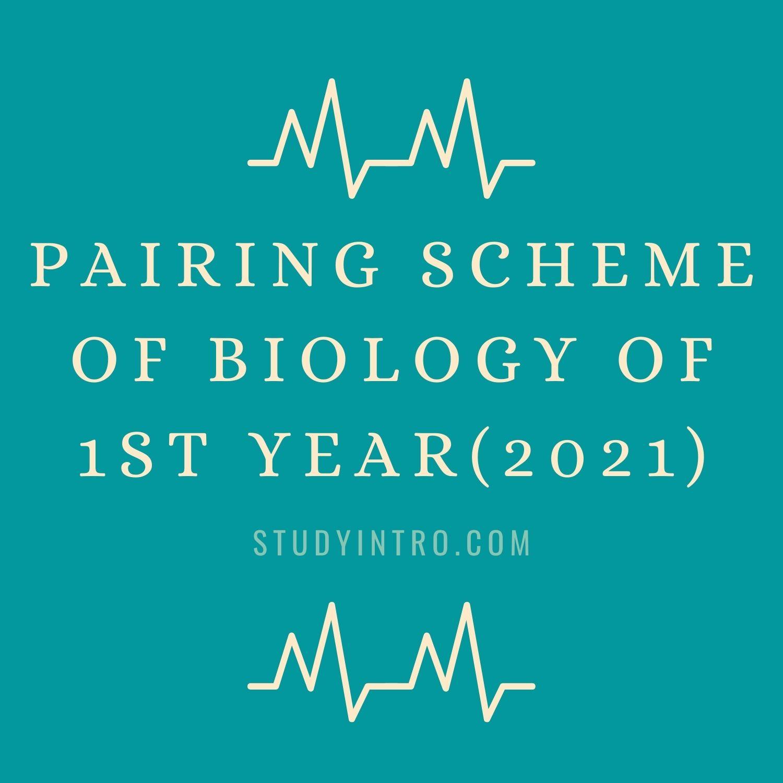 Pairing Scheme of Biology