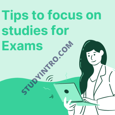 Tips to focus on study