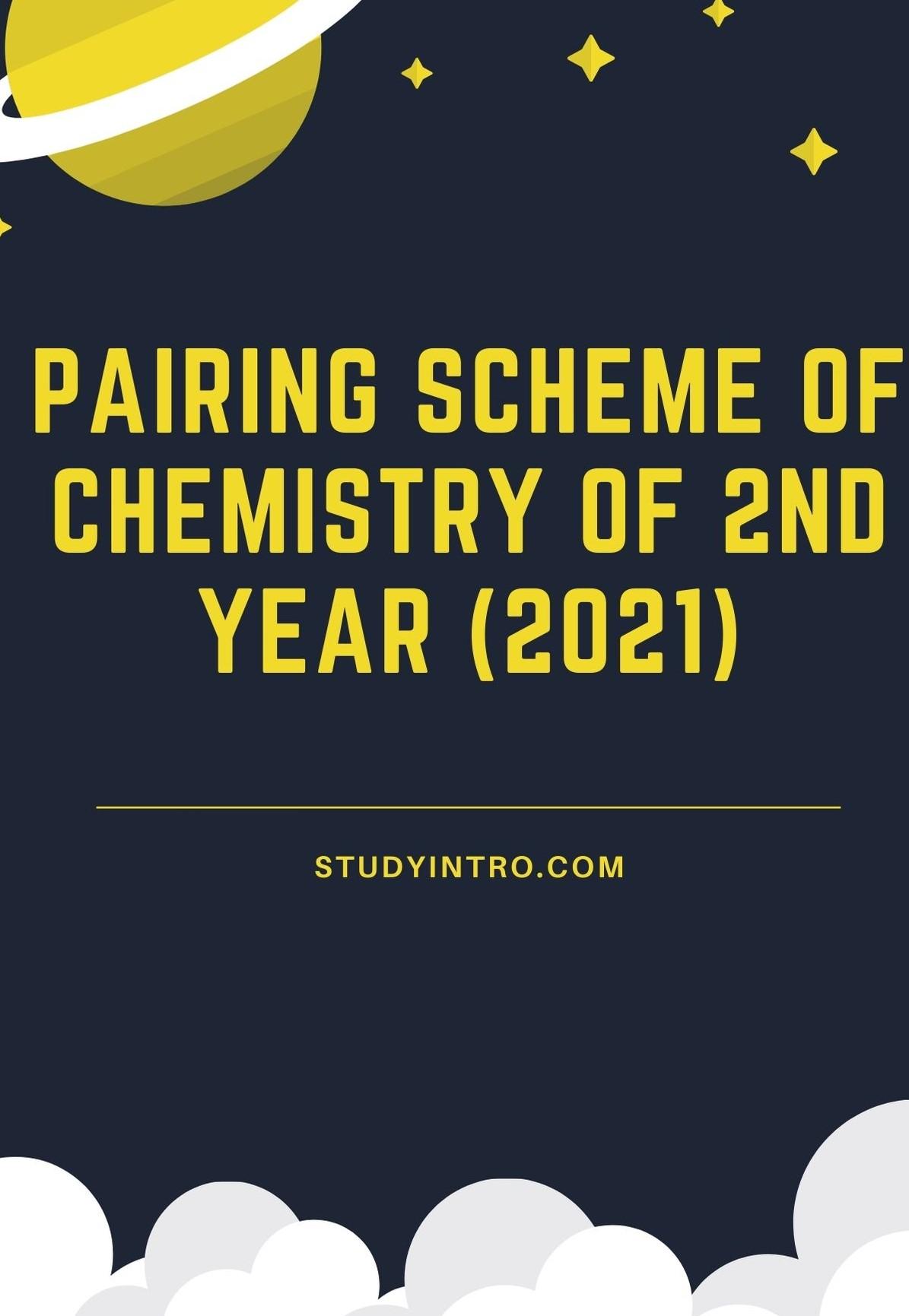 Pairing Scheme of Chemistry