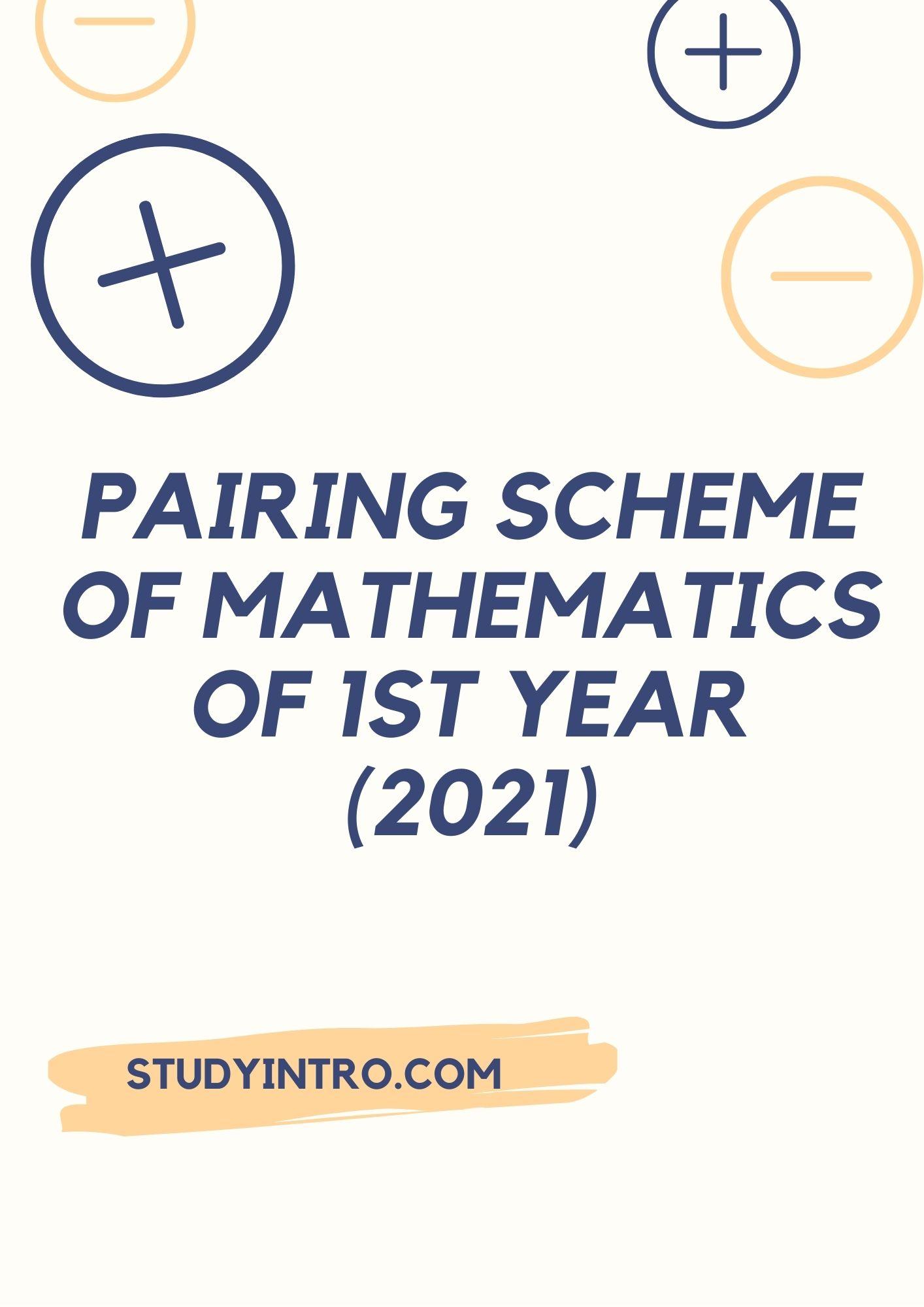 Pairing Scheme of Math
