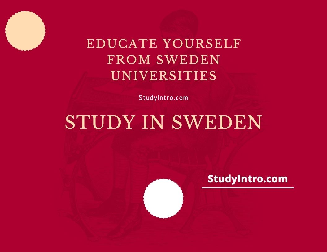 Educate Yourself from Sweden Universities