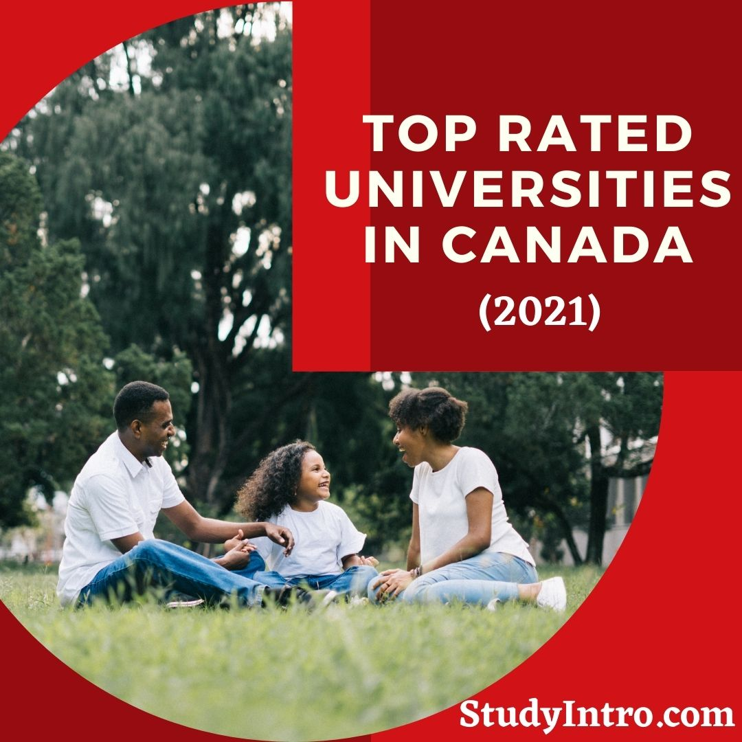 Top Rated Universities in Canada