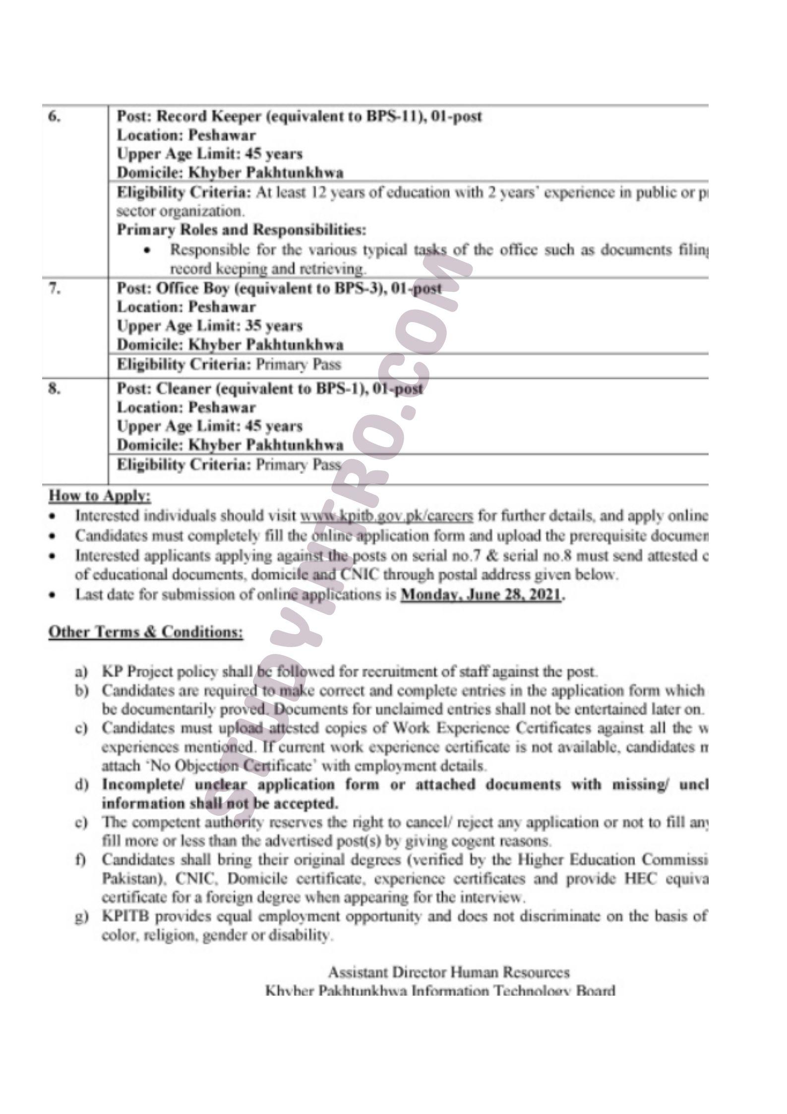 Jobs in KPK