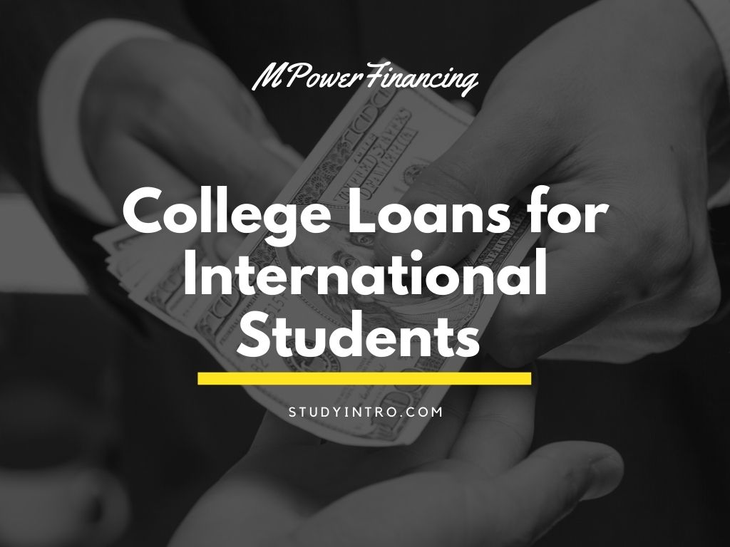 College Loans for International Students