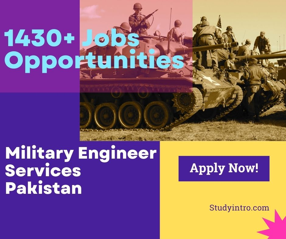Jobs Opportunites in Military Engineer Services 2021